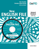 New English File Advanced Workbook With Key And MultiROM Pack