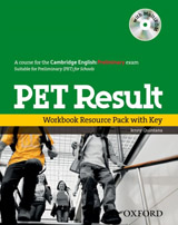PET Result! Workbook Resource Pack with key