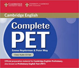 Complete PET Class Audio CDs
