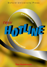 NEW HOTLINE PRE-INTERMEDIATE STUDENT´S BOOK