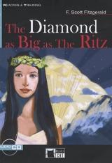 Black Cat DIAMOND AS BIG AS THE RITZ + CD ( Reading & Training Level 3)