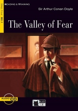Black Cat VALLEY OF FEAR + CD ( Reading & Training Level 4)