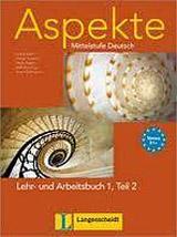 Aspekte 1 in Teilbänden Lehr- und Arbeitsbuch Teil 2 mit Audio CD