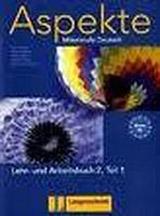Aspekte 2 in Teilbänden Lehr- und Arbeitsbuch Teil 1 mit Audio CD