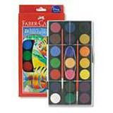 Faber-Castell - vodové barvy - 21 barev