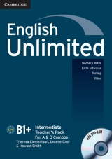 English Unlimited Intermediate Teacher´s Pack (Teacher´s Book with DVD-ROM)