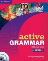 Aktivn� gramatika pro dosp�vaj�c� a dosp�l� studenty - �rove� 1 p�edstavuje gramatick� jevy na �rovni A1 - A2 s jasn�m vysv�tlen�m a u�ite�n� tipy, kter� se zam��uj� na nej�ast�j�� chyby. Velk� mno�stv� cvi�en� v knize i na CD-ROMu umo��uje student�m zhodnotit a sledovat sv�j pokrok v pravideln�ch intervalech. Sou��st� knihy je kl�� spr�vn�ch odpov�d� na zadn� stran� knihy, proto je tato verze ide�ln� i pro self-studium.