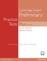PET Practice Tests Plus 1 Revised Edition Student´s Book with Answer Key and Audio CD Pack