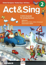 Helbling Primary Act & Sing 2 + Audio CD