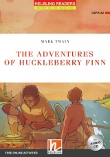 HELBLING READERS Red Series Level 3 The Adventures of Huckleberry Finn + Audio CD (Mark Twain)