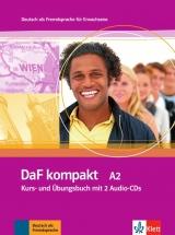 DaF kompakt A2, Kurs-/Übungsbuch mit 2 Audio-CDs
