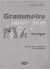 GRAMMAIRE SAVOIR-FAIRE CORRIGES