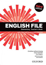 English File Elementary (3rd Edition) Teacher´s Book with Test & Assessment CD-ROM