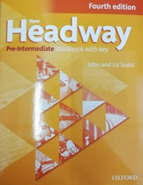 New Headway Pre-Intermediate (4th Edition) Workbook with Answer Key & iChecker CD-ROM