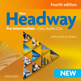 New Headway Pre-Intermediate (4th Edition) Class Audio CD (3)