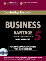 Cambridge BEC 5 Vantage Self-study Pack