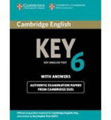 Cambridge Key English Test 6 Self-study Pack (Student´s Book with answers and Audio CD)