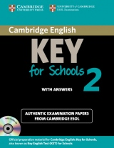 Cambridge Key English Tests for Schools 2 Self-study Pack ( Student´s Book with answers + Audio CD)