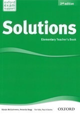 Solutions (2nd Edition) Elementary Teacher´s Book with CD-ROM