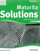 Maturita Solutions (2nd Edition) Elementary Workbook with Workbook CD Pack CZ
