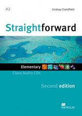 Straightforward 2nd Edition Elementary Class Audio CDs