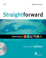 Straightforward 2nd Edition Elementary Workbook with Key Pack