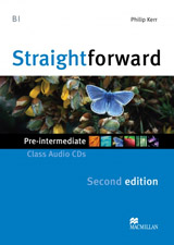 Straightforward 2nd Edition Pre-Intermediate Class Audio CDs
