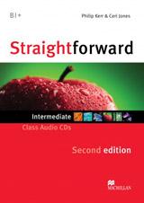 Straightforward 2nd Edition Intermediate Class Audio CDs
