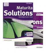 Maturita Solutions (2nd Edition) Intermediate (SB+WB) PACK