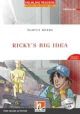 HELBLING READERS Red Series Level 2 Ricky´s Big Idea + Audio CD ( Martyn Hobbs)