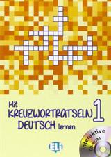 Mit Kreuzwortratseln Deutsch Lernen: Book 1 + DVD-Rom