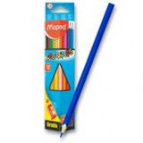 Pastelky Maped Color´Peps - 12 barev + oøezávátko