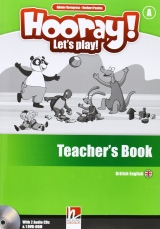 HOORAY, LET´S PLAY! A TEACHER´S BOOK WITH CLASS AUDIO CDs (2) AND DVD-ROM
