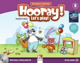HOORAY, LET´S PLAY! B STUDENT´S BOOK WITH SONGS & CHANTS AUDIO CD