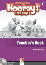 HOORAY, LET´S PLAY! B TEACHER´S BOOK WITH CLASS AUDIO CDs (2) AND DVD-ROM