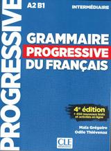 GRAMMAIRE PROGRESSIVE DU FRANCAIS: NIVEAU INTERMEDIAIRE 4. edice+CD+Livre-web