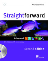 Straightforward 2nd Edition Advanced Workbook & Audio CD with Key