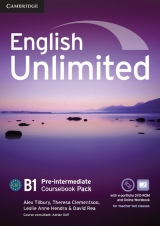 English Unlimited Pre-Intermediate Coursebook with e-Portfolio and Online Workbook