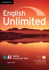 English Unlimited Starter Coursebook with e-Portfolio and Online Workbook