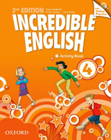 Incredible English 4 (New Edition) Activity Book with Online Practice