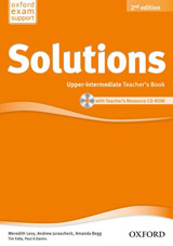 Maturita Solutions (2nd Edition) Upper-Intermediate Teacher´s Book with CD-ROM Pack