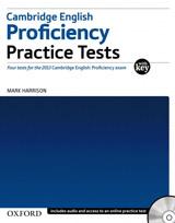 Cambridge English Proficiency Practice Tests with Key & Audio CDs (2) & Online Test