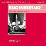 Oxford English for Careers Engineering 1 Class Audio CD