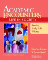 This book uses authentic readings from college texbooks to teach academic reading, writing, and study skills and introduce students to topics in sociology.