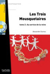 LFF A2 LES TROIS MOUSQUETARIES 2 + CD Audio MP3