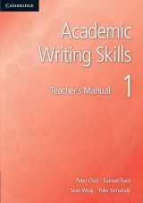 T��d�ln� s�rie Academic Writing Skills je ur�ena vysoko�kolsk�m student�m na pokro�il� �rovni, u�� studenty krok za krokem ps�t eseje na akademick� �rovni - metodick� p��ru�ka pro u�itele
