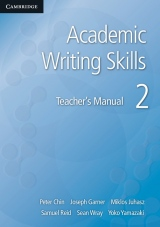 Academic Writing Skills 2 Teacher�s Book