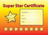 Certifikát Super Star A5