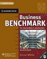 Business Benchmark Pre-Intermediate - Intermediate Student´s Book with CD-ROM BULATS Edition