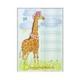 Nástìnný výukový obraz – Žirafa